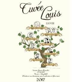 Etiquette Cuvée Louis-Henri