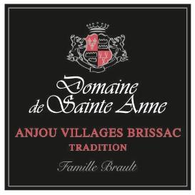 Etiquette Anjou Villages Brissac