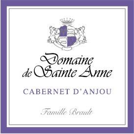 Etiquette Cabernet d'Anjou Rosé