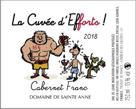 Etiquette La Cuvée D'efforts !