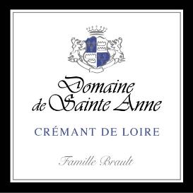 Etiquette Crémant de Loire Blanc Brut